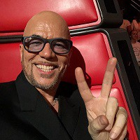 réseaux snapchat instagram facebook youtube de Pascal Obispo The voice 7,